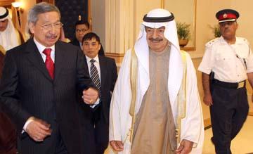 HRH Premier receives Philippine Envoy