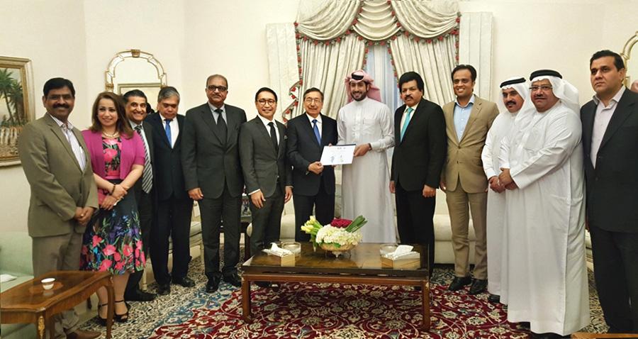 Manama ASEAN Society Chairman HE Shaikh Daij bin Isa Al Khalifa