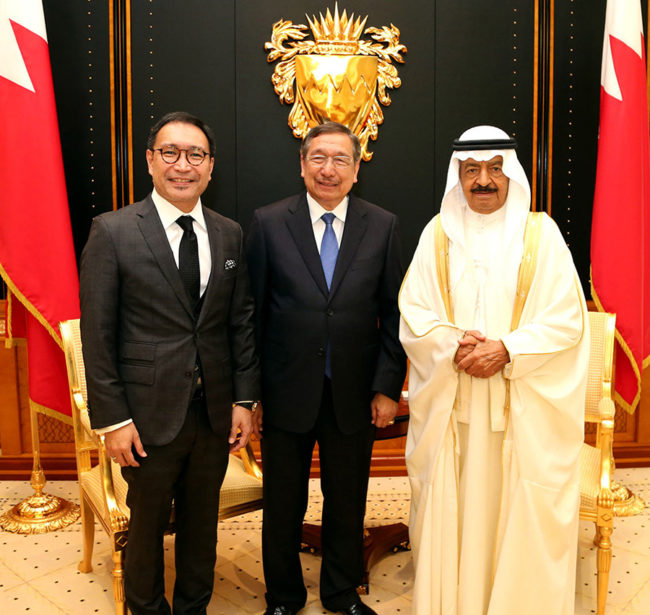 Special Envoy of the Pres. to the GCC, Ambassador Amable R. Aguiluz V at the Kingdom of Bahrain